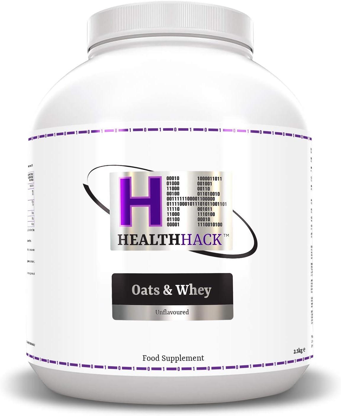 Health Hack - Avena y suero de leche, 2,5 kg, chocolate: Amazon.es: Salud y cuidado personal