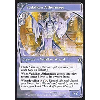 Magic: the Gathering - Vedalken AEthermage - Future Sight - Foil