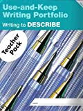 img - for Writing to Describe: Level B (Use-and-Keep Writing Portfolio) by Sally Speer Leber (1996-11-03) book / textbook / text book