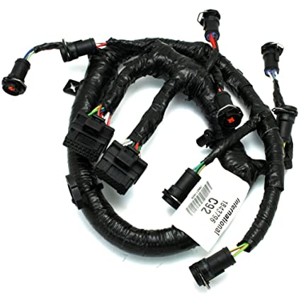 61l8kj8Ld L._SX425_ amazon com 3c3z9d930aa fuel injector harness 6 0l ford diesel oem