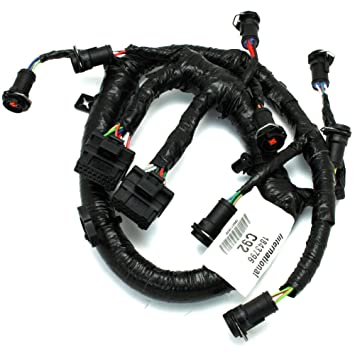 61l8kj8Ld L._SY355_ amazon com 3c3z9d930aa fuel injector harness 6 0l ford diesel oem