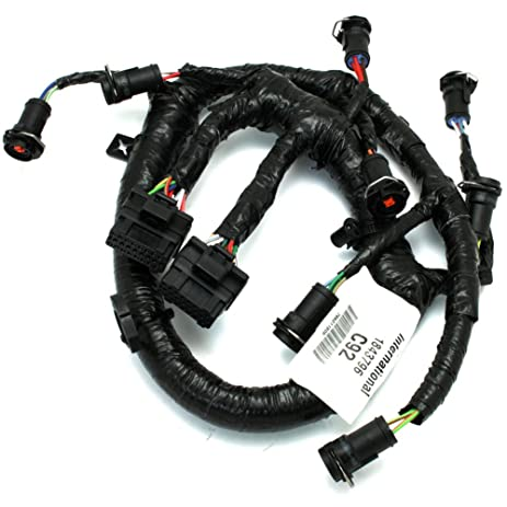 61l8kj8Ld L._SY463_ amazon com 3c3z9d930aa fuel injector harness 6 0l ford diesel oem 1997 Ford 7.3 Fuel Pump at alyssarenee.co