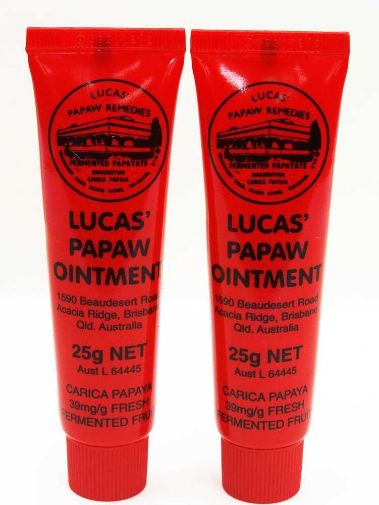 Lucas Remedies - Lot de 2 tubes de pommade à la papaye - 2x25G BeautyLand