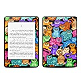 Colorful Kittens Design Protective Decal Skin Sticker for Amazon Kindle Paperwhite eBook Reader (2-point Multi-touch)