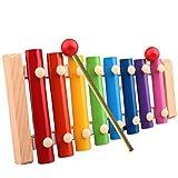 Susenstone Xylophone 8-Notes Clavier Musical Instrument Instrument en bois Éducatif /Wisdom Développement Formation Jouet du Bébé