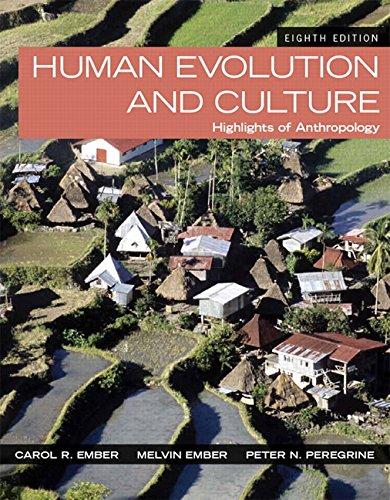 Download Human Evolution and Culture: Highlights of AnthropologyHighlights of Anthropology (8th Edition) Pdf