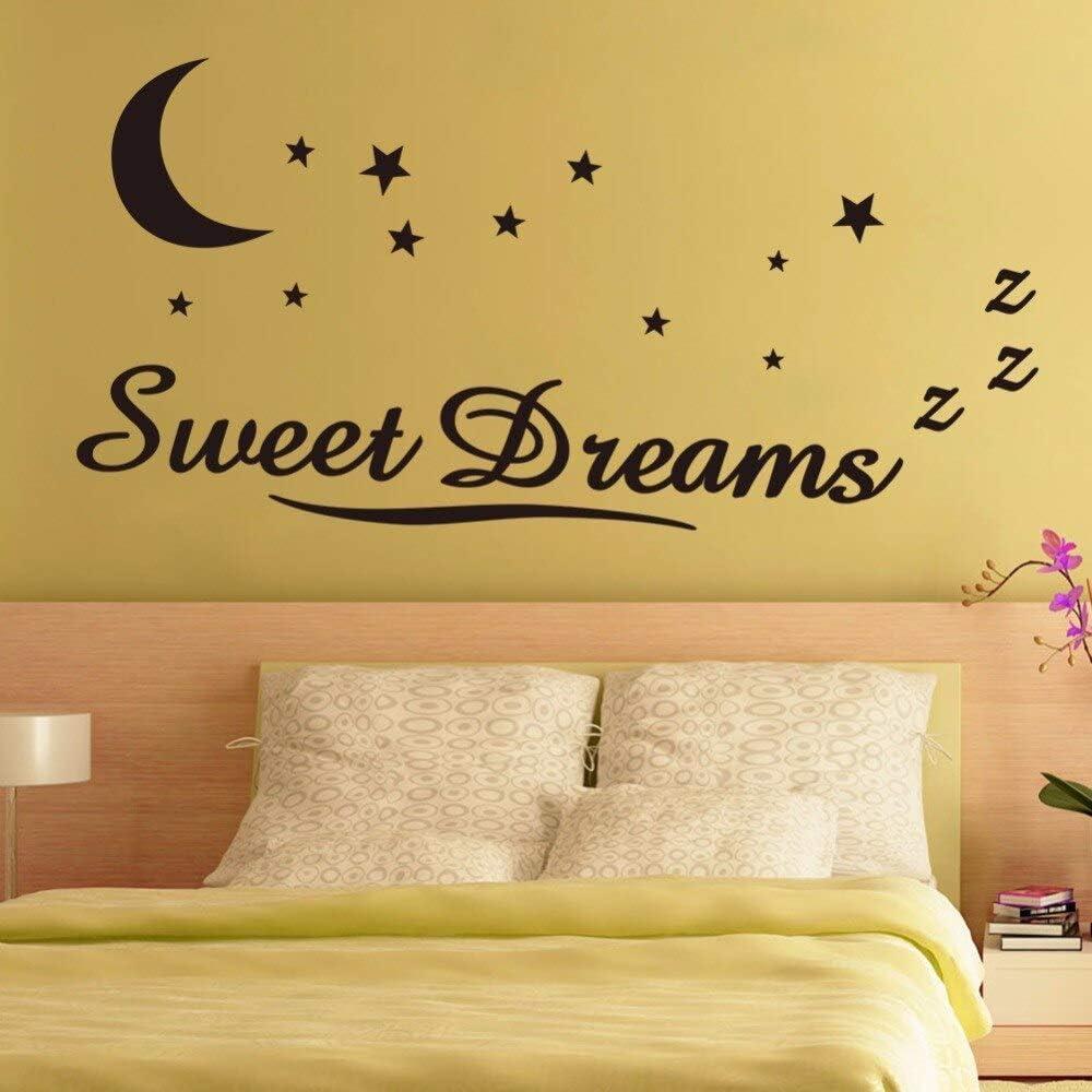 HNXDP Sweet Dreams Moon Stars Vinilo Tatuajes de pared Arte ...