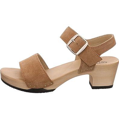 Softclox Damen Sandaletten 21 Zimt S3380 Kea Kaschmir braun