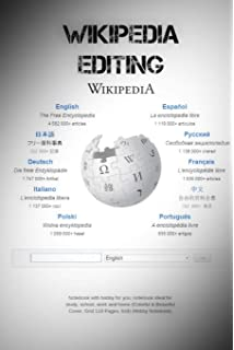 Wikipedia Editing: Notebook with hobby for you, notebook ideal for study, school,