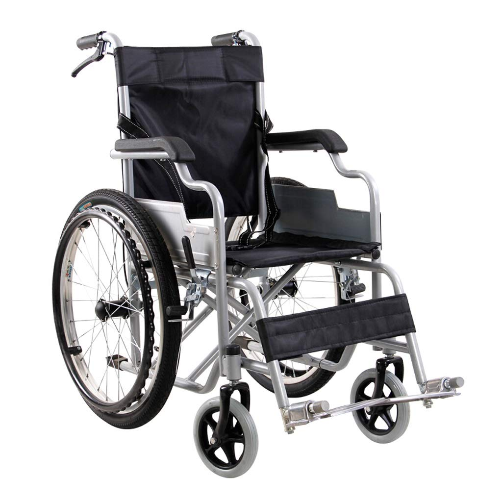 人気商品 車椅子 - ブラック) 折りたたみ式ポータブル高齢者歩行用トロリー障害者用手動スクーター座り幅38cm (色 (色 : - ブラック) ブラック B07P3KCG29, 調理用品のキッチンよろず:d8be50a9 --- a0267596.xsph.ru