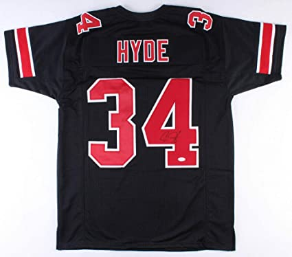 Carlos Hyde Ohio State Buckeyes Football Jersey - Red