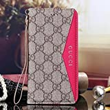 iPhone 6S Plus Case, New Elegant Luxury PU Leather Classic Style Cover Case For Apple iPhone 6S Plus (Color : ROSE)