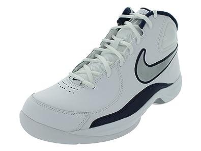 info for 3217c 49250 Nike The Overplay VII - Zapatillas de Baloncesto de Cuero para Hombre  Blanco Blanco, Color Blanco, Talla 7 Amazon.es Zapatos y complementos