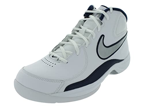 Nike The Overplay VII - Zapatillas de Baloncesto de Cuero para Hombre Blanco Blanco, Color Blanco, Talla 7: Amazon.es: Zapatos y complementos
