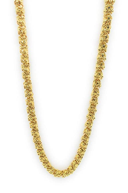 Buy Khubsurat Micro Gold Plated Neck Chain For Women - 25 Inch Long Online  at Low Prices in India  c39486c8a7