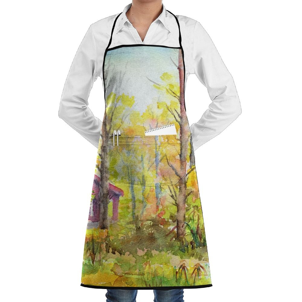 Ticknock公園ダブリン調節可能なネックよだれかけエプロンforレディースメンズシェフ – レストランホームキッチンエプロンよだれかけ2ポケット付き料理、グリル、ベーキング、工芸、ガーデニング、BBQ   B07FTBFG97