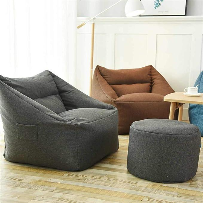 Amazon.com: Pinyu Lazy Sofa Indoor Seat Chair Cover ...