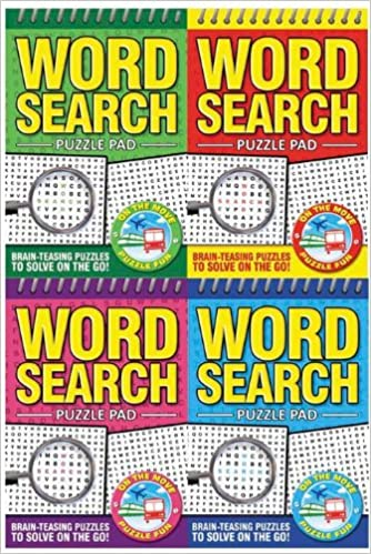 WORD SEARCH PUZZLE PAD: Unknown Author: 9781847504531: Amazon com: Books