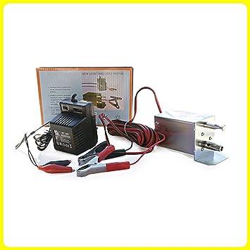 Mini barbacoa Grill asador Motor escupa Chipre turcochipriota 12/240 V: Amazon.es: Electrónica