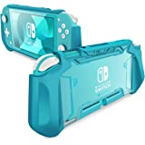 Mumba Grip Case for Nintendo Switch Lite, [Blade Series] TPU Protective Portable Cover Accessories Compatible with…