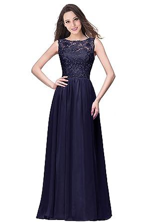 f0b45365d2170 MisShow Robe Femme Elégante de Soirée Chic pour Mariée Demoiselle d honneur  en Mousseline Florale
