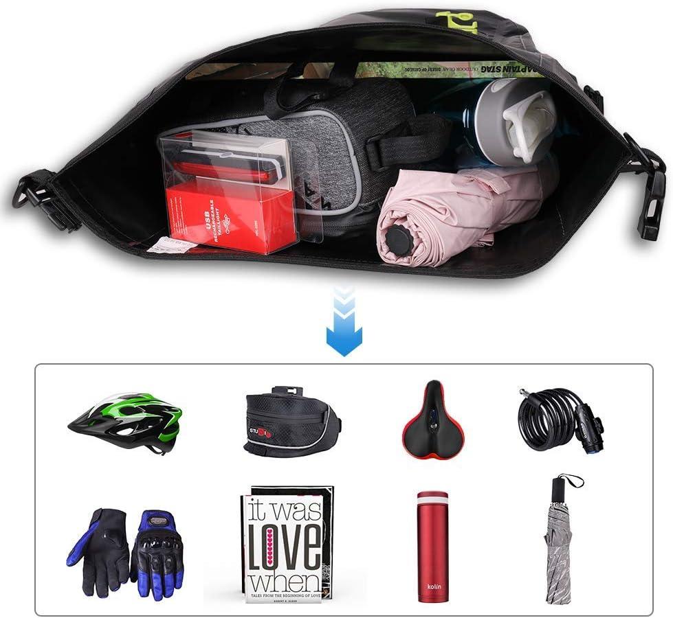 Bolsa portaequipajes para bicicleta 25 L, impermeable Waterfly