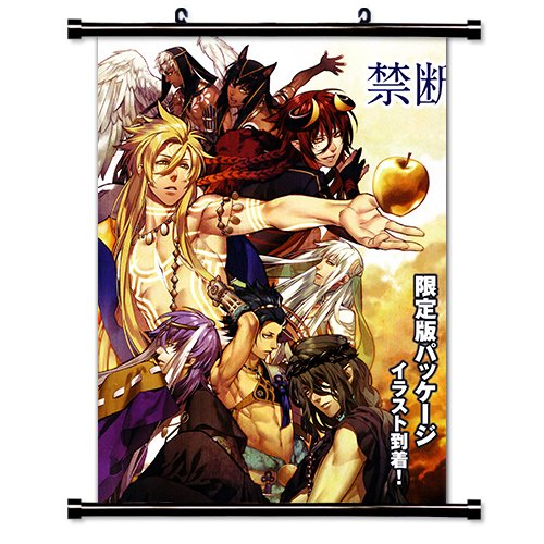 Kamigami no Asobi Anime Fabric Wall Scroll Poster Wp Kamigami no Asobi- 4