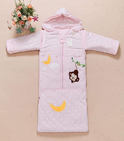 Gleecare Saco de Dormir para bebé,Saco de Dormir de algodón Grande Bolsa de Dormir