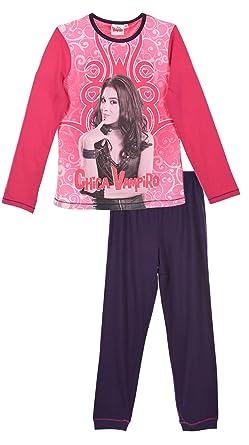 c8d793aa7d64e Pyjama long enfant fille Chica Vampiro Rose violet de 6 à 12ans (6 ...