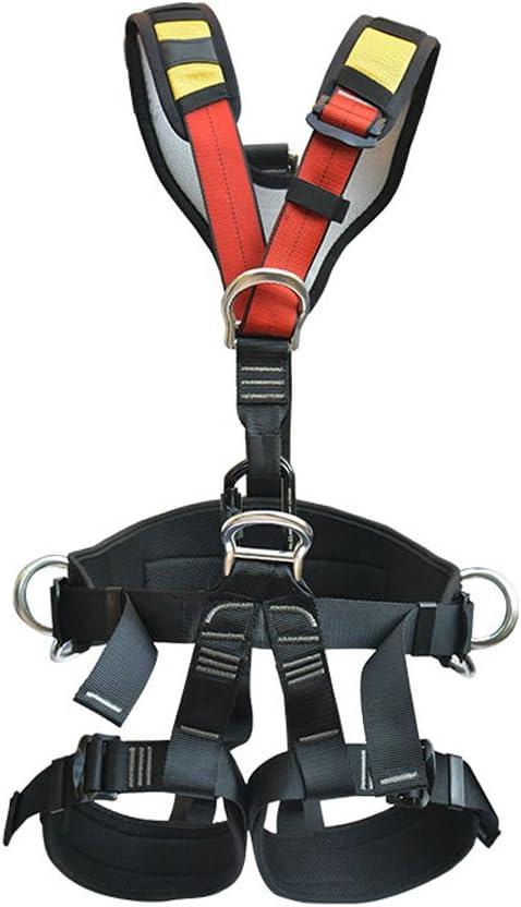 WCYBELT Cinturón de Seguridad de Escalada, Altura de Roca de ...