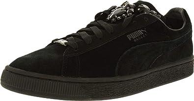 best sneakers 9e309 a753e Amazon.com | PUMA Women's Basket Jewels Ankle-High Suede ...
