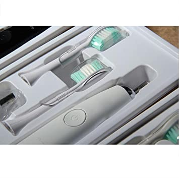 Elektrische Zahnburste Weiche Haar Aufhellung Ladung Dreifarbige