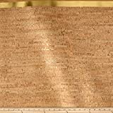 Brewer Sewing EverSewn Cork Fabric 1 Yard Natural with Gold Flecks