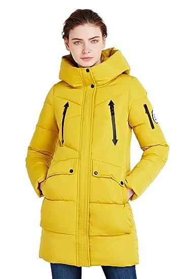 Mantel Icebear Baumwolle Wintermantel Damen Steppjacke Mit Kapuze Parka xerdCoBW