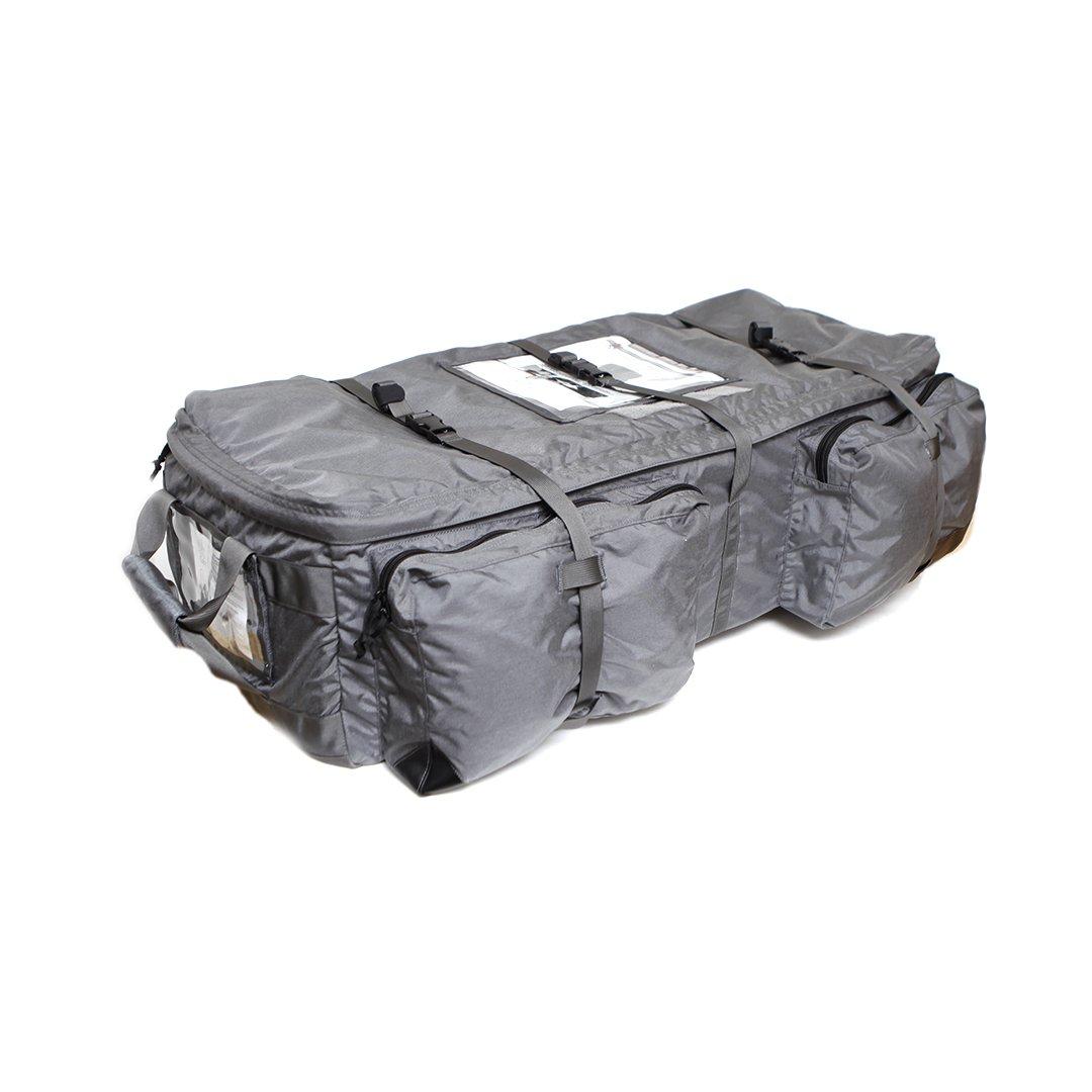 LBX TACTICAL Wheeled Loadout Bag, Wolf Grey, Large