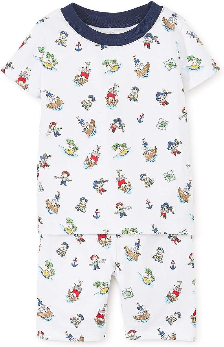Print Short Pajama Set Kissy Kissy Baby Boys Pirate Treasure