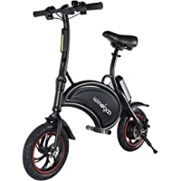 Windgoo Bicicletta Elettrica, E-Bike, Bicicletta Elettrica Pieghevole,Ruota 12'', 36V/6.0Ah, Motore 350 W, velocità Max 25 Km/h