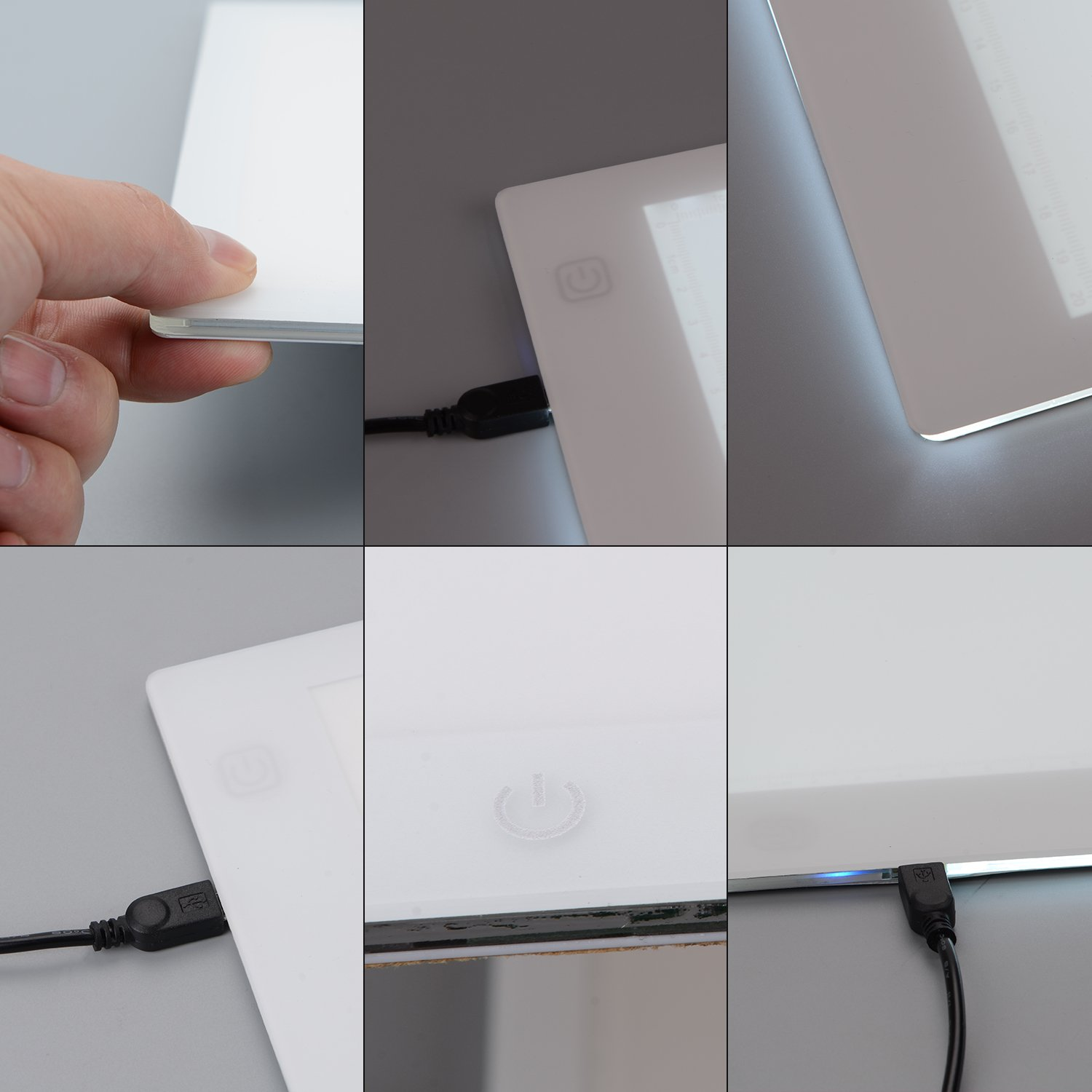 A4 Ultra-Thin Portable LED Light Box Tracer USB Power Cable