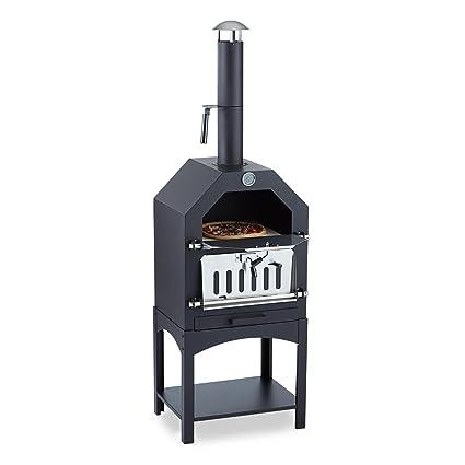 Klarstein Pizzaiolo • Horno para pizza • Parrilla • Ahumador • Asar • Hornear • Termómetro