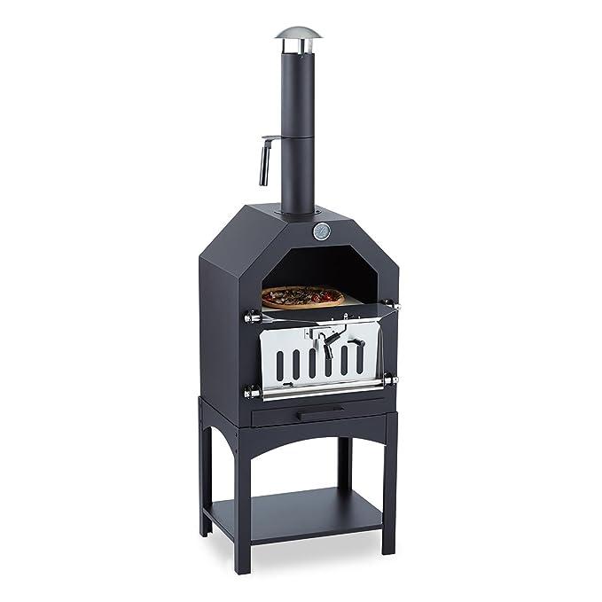 KLARSTEIN Pizzaiolo - Horno para Pizza, Parrilla, Ahumador, Asar ...