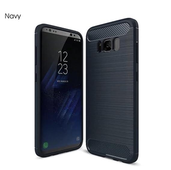 brand new 071f7 0ae65 Amazon.com: Samsung Galaxy S9 Carbon Fiber Premium Case (Nay): Cell ...