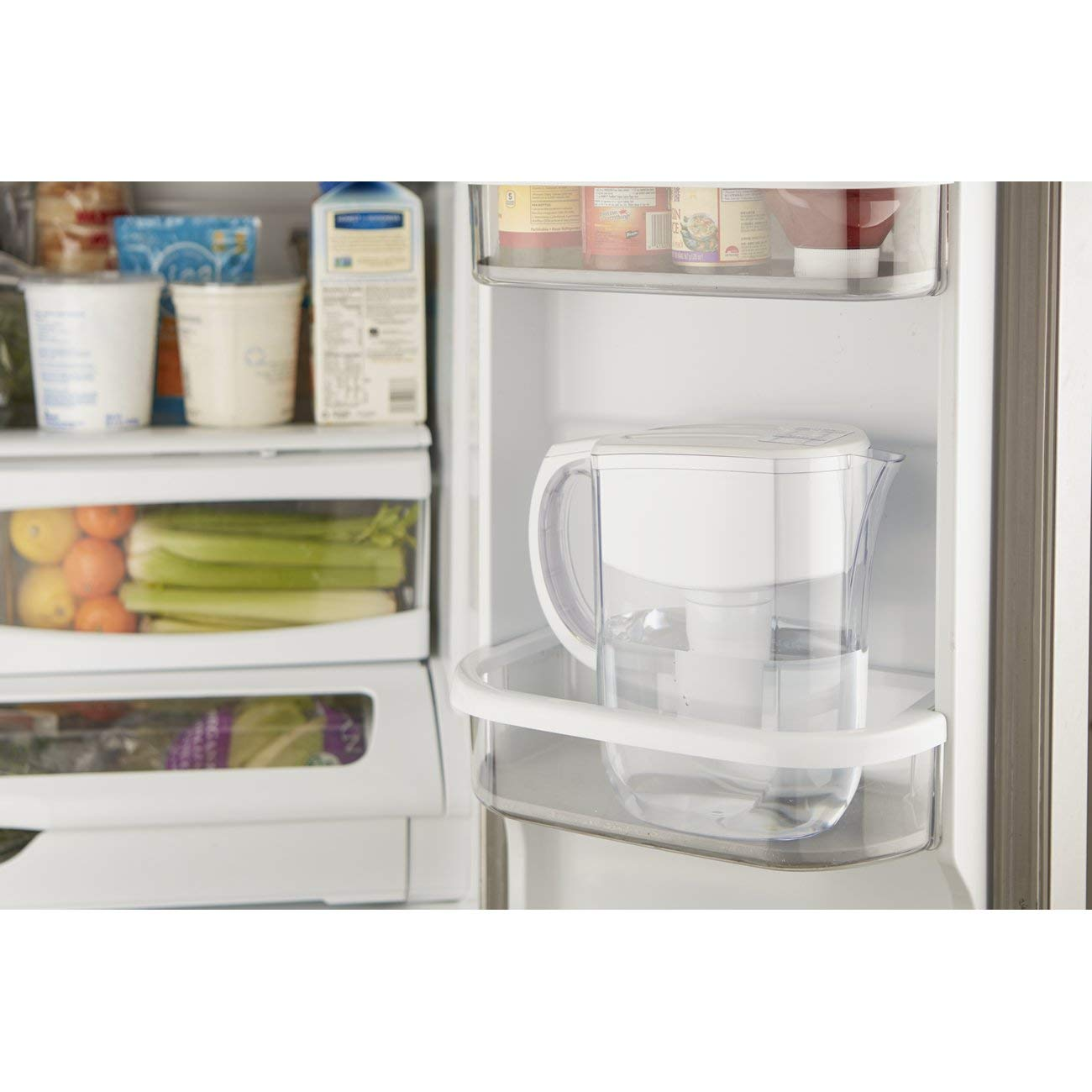 Brita Large 10 Cup Everyday Water Pitcher with Filter - BPA Free - White by Brita (Image #10)