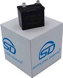 Supplying Demand 5304464438 Run Capacitor Compatible with Frigidaire Refrigerators 5303289028 5303310070 AP4315853