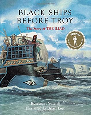 book cover of Black Ships before Troy