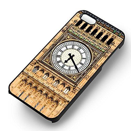 Big Ben Clock pour Coque Iphone 6 et Coque Iphone 6s Case (Noir Boîtier en plastique dur) E6N7RK