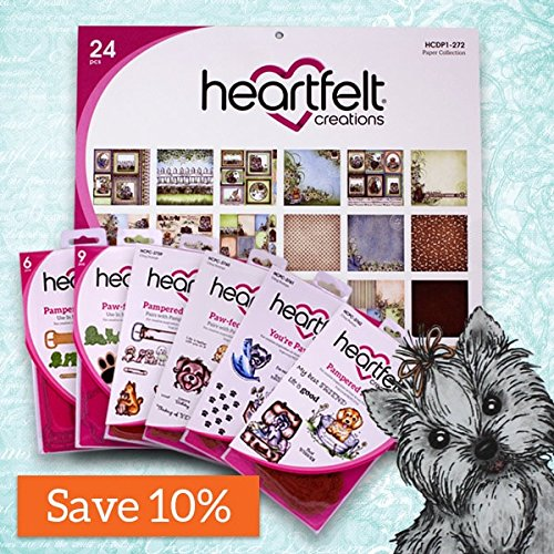 Heartfelt Creations Pampered Pooch Collection Full Collection (no card kit in this bundle) by Pampered Pooch