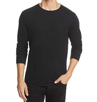Rag Bone Mens Pullover Tripp Crewneck Sweater Black Xs At Amazon