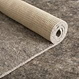 10x13 Thick Felt and Rubber Rug Pad- Non Slip Rug Pad- 3/8 inch Thick Felt Rug Pad w/ Natural Rubber Backing- Anchor-Grip 30