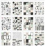Carpe Diem by Simple Stories Beautiful A5 Sticker