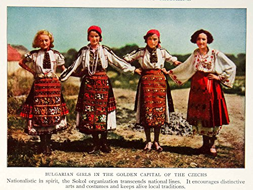 1933  (Czech Republic Traditional Costume)